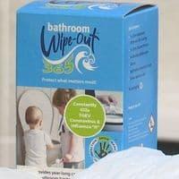 10x Bathroom Wipe-Out 365 Infection Bathroom Protector + Handles Kills TGEV Coronavirus +Influenza A